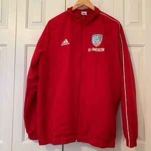 Vintage Adidas All American United Soccer Jacket